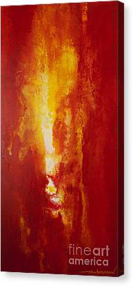 Incendie Canvas Print by Todd Karleskein