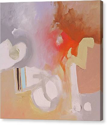 Non-objective Art Canvas Print - Inception by Linda Monfort
