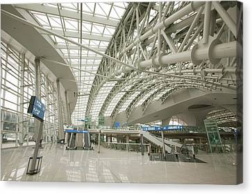 Incheon Airport In Seoul Canvas Print