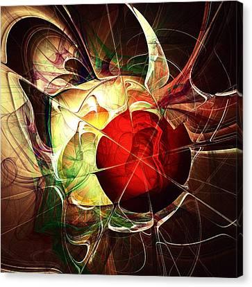 Incoming Bullet Canvas Print by Anastasiya Malakhova