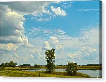 Incoming Canvas Print by Frozen in Time Fine Art Photography