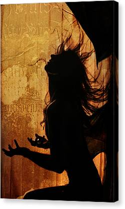 Incubus Canvas Print by Cambion Art