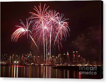 Independence Day Canvas Print by Kim Quintano