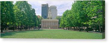 Independence Hall, Philadelphia Canvas Print by Panoramic Images