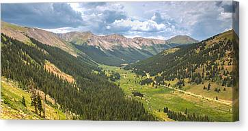Independence In Colorado - Color Canvas Print by Photography  By Sai