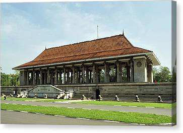 Memorial Hall Canvas Print - Independence Memorial Hall, Cinnamon by Panoramic Images