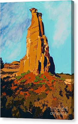Independence Rock Canvas Print by Craig Nelson