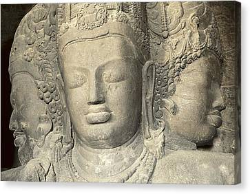 India. Bombay. Elefanta. Elephanta Canvas Print