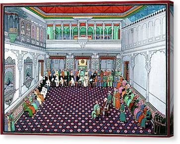 Fine Art India Canvas Print - India British Reception by Granger