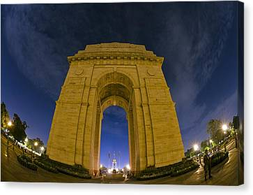 India Gate Canvas Print by Aaron Bedell