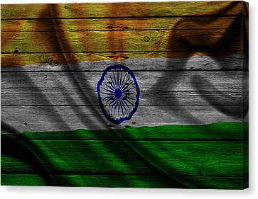 India Canvas Print by Joe Hamilton
