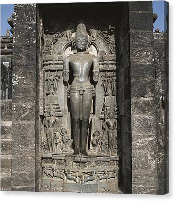 India. Orissa. Konarak. Sun Temple Canvas Print