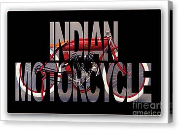 Indian Board Track Racer Motorcycle Canvas Print