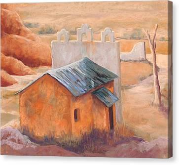 Indian Cliffs Church Canvas Print