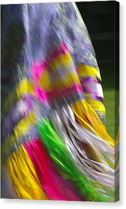 Indian Dance Canvas Print