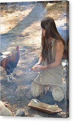 Indian Girl Canvas Print by Richard Jenkins