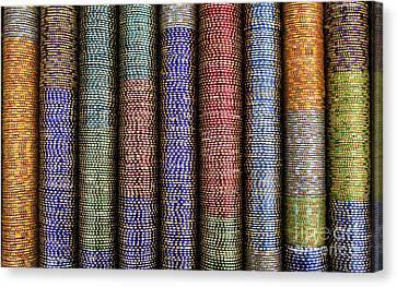 Indian Glass Bangles Canvas Print
