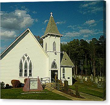 Indian Mission United Methodist Church Harbeson Delaware Canvas Print