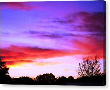 Indian Morning Sky Canvas Print