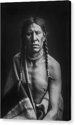 Indian Of North America Circa 1900 Canvas Print