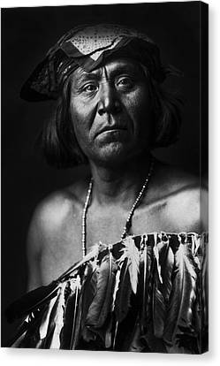 Indian Of North America Circa 1903 Canvas Print