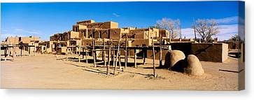 Pueblo Architecture Canvas Print - Indian Pueblo, Taos, New Mexico, Usa by Panoramic Images