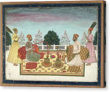 Indian Rajas Canvas Print by British Library