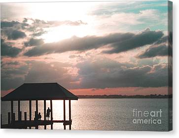 Canvas Print featuring the photograph Indian River Lagoon by Megan Dirsa-DuBois