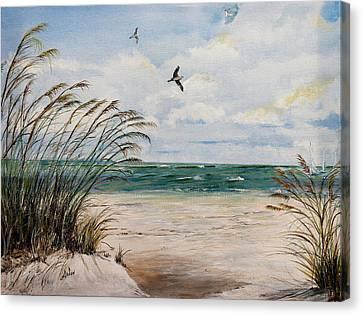 Indian Rocks Beach  Canvas Print