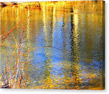 Indian Summer Canvas Print by Mary Beth Landis