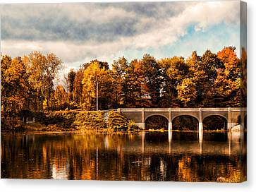 Indian Summer Canvas Print by Peter Chilelli