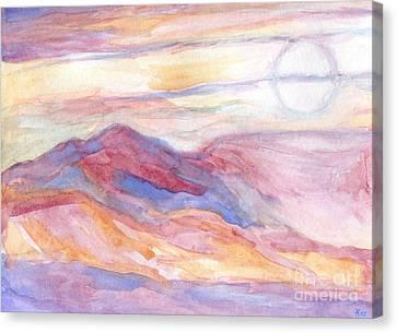 Indian Summer Sky Canvas Print