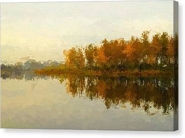 Indian Summer Canvas Print by Steve K