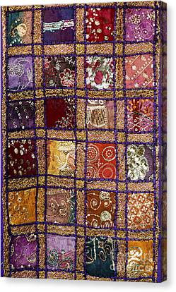 Indian Textile Wall Hanging Canvas Print