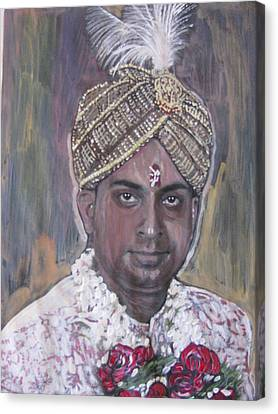 Indian Wedding Canvas Print