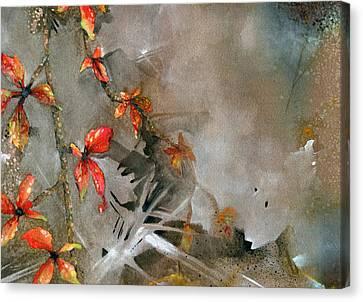 Indiana Fall Canvas Print by John Christopher Bradley