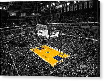 Indiana Pacers Special Canvas Print by David Haskett