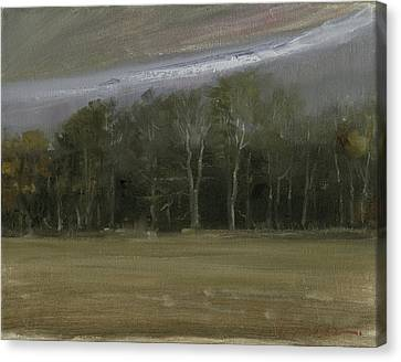 Canvas Print featuring the painting Indiana Sky by John Reynolds