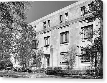Indiana University Merrill Music Building Canvas Print by University Icons