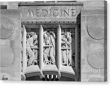 Indiana University Myers Hall Medicine Canvas Print by University Icons