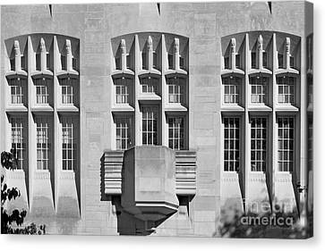 Indiana University Myers Hall Canvas Print by University Icons