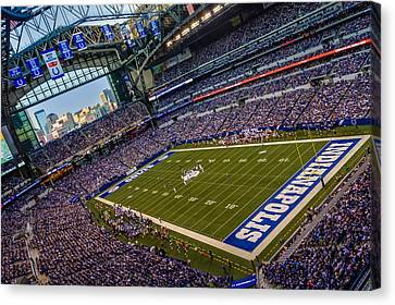 Indianapolis And The Colts Canvas Print