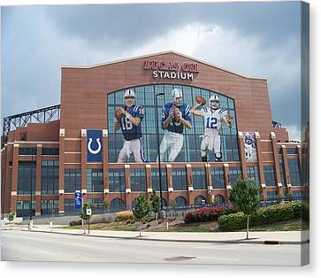 Indianapolis Colts Lucas Oil Stadium Canvas Print