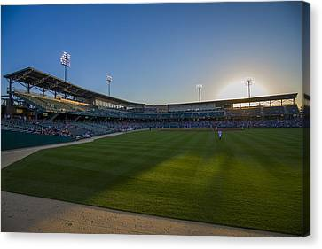 Indianapolis Indians Victory Field 4593 Canvas Print by David Haskett
