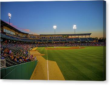 Indianapolis Indians Victory Field 4676 Canvas Print by David Haskett