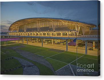 Indianapolis International Airport Canvas Print by David Haskett