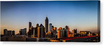 Indianapolis Skyline - South Canvas Print
