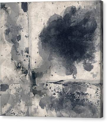 Indigo Clouds 1 Canvas Print by Carol Leigh