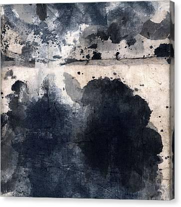 Indigo Clouds 4 Canvas Print