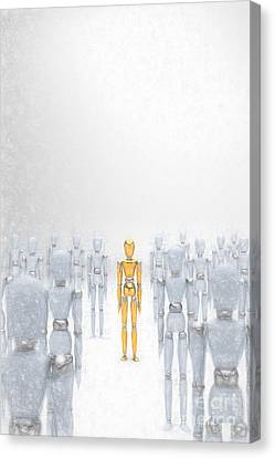 Individuality 2 Canvas Print by Carsten Reisinger